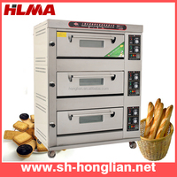 industrial bakery bread baking oven for sale (CE,manufacturer)