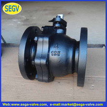 Flow control directional Hydraulic cast iron ball Valves