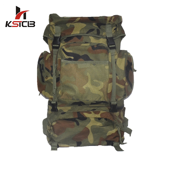 China Supplier 600D polyester camping hiking army assault backpack bags