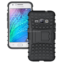 FOR Samsung Galaxy J120F J1 2016 Armor case Heavy Duty Hybrid Rugged TPU Impact Kickstand Hard Cover ShockProof for J1 TYRE CASE