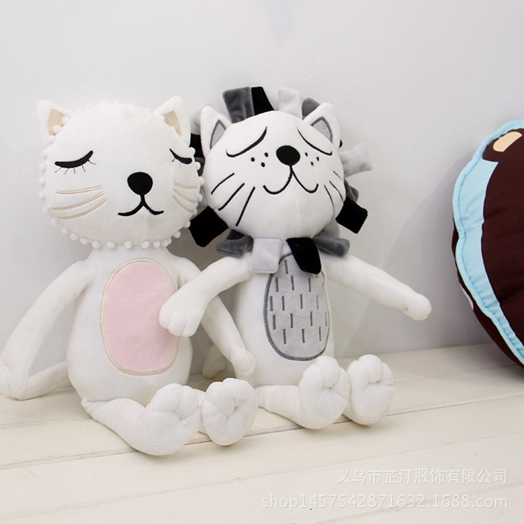 China Toy Factory Promotional Baby Cute Stuffed Toys Lovely Plush Cat & Lion Toys