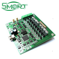 Smart Electronics Smoke electronic board mass production , PCB assembly with components