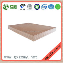 Formaldehyde Free Furniture Grade Black Laminate Pine Plywood