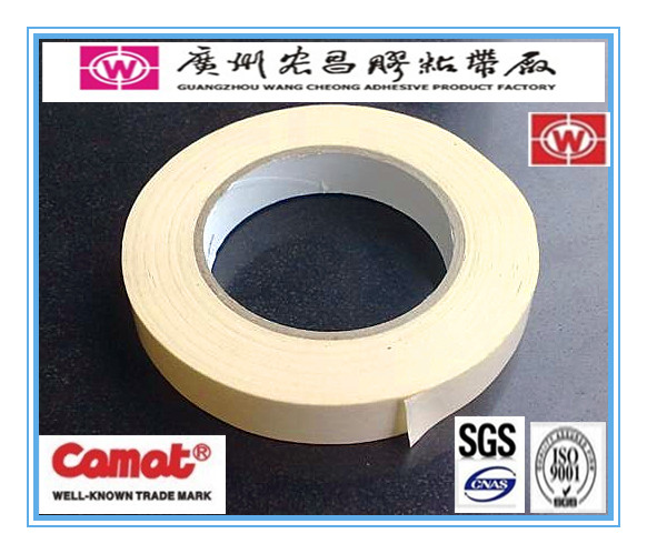 Guangzhou factory manufacture crepe paper double sided masking tape