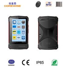 Touch screen 7 inch android 2d barcode scanner pda for stocktaking with wifi gps 3g pda