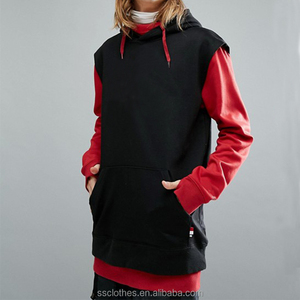Snow dryden thumb hole ski snowboard long tall hoodie with double layered body