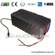 Portable 13s4p 48v 12ah lithium ion battery 48v 12ah lithium battery pack for electric bike ,Electric scooter