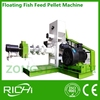 China top 10 brand pet fish feed pellet machine / floating fish feed