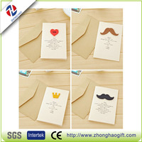 2013 newest design 3D card weeding invitation paper greeting card