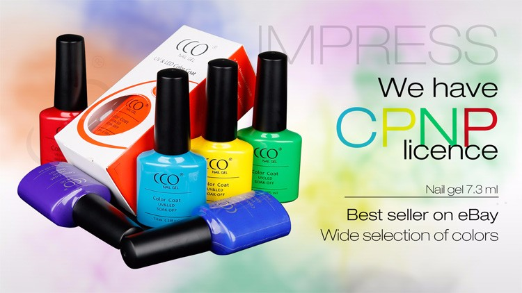 CCO impress series 7.3ml color gel nail polish making kits
