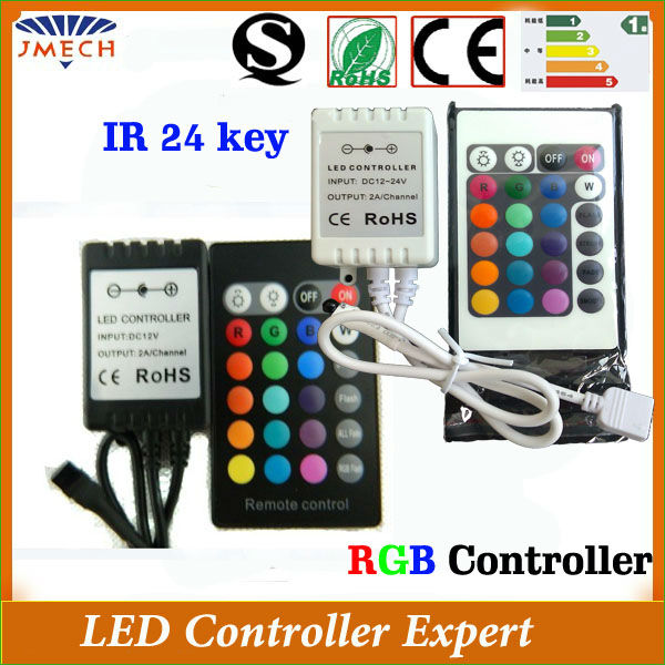 CE& Rohs programmable LED Controller ir remote controller