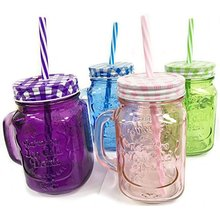 cheap glass mason jar drinking glass with perfect quality