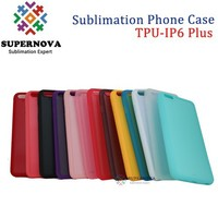 2D Sublimation Rubber Phone Cover for iPhone 6 + Plus, 5.5inch