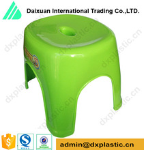 colorful small plastic stools and chairs for bathroom