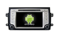 Quad core!car dvd with mirror link/DVR/TPMS/OBD2 for 7inch touch screen quad core 4.4 Android system Suzuki SX4