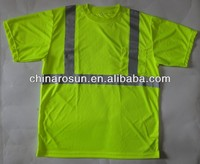 Heat transfer reflective T Shirt ANSI/EN471