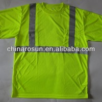 Heat Transfer Reflective T Shirt ANSI