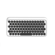 Wireless Bluetooth Mechanical Keyboard for iPad Bluetooth USB Mechanical Keyboard Wireless Backlit Round Button
