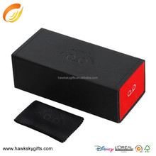 New design packaging magnetic gift box with partitions for eyeglasses