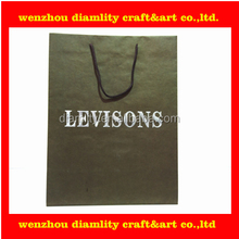 2016 new cheap custom paper bag with logo wholesale