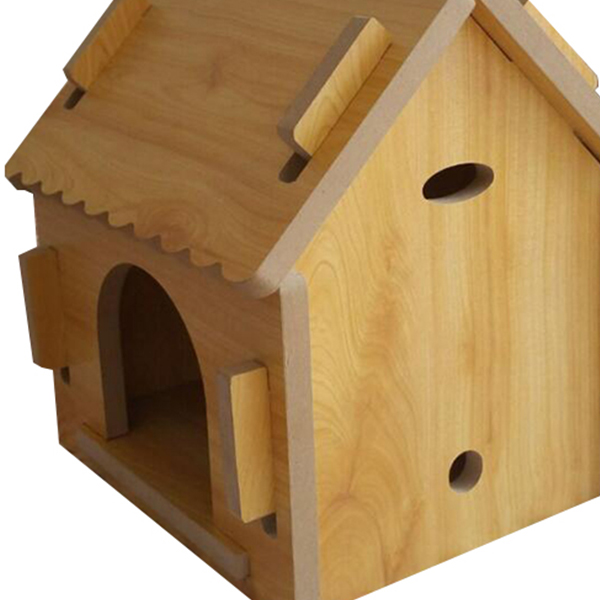 DIY Handmade Easy Assembled Small Wooden Dog House
