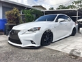 AIMGAIN SIDE SKIRTS FOR IS F-SPORT CARBON FIBER 2013-CURRENT