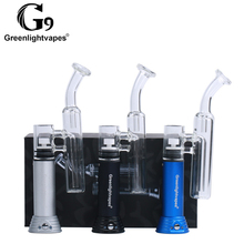 G9 smoking glass pipe bubbler electric dab electric enail for oil or wax