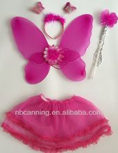 fairy wings & wand set/fantasy fairy wings costume favor/Fairy Wings Baby Girl Angle Wings