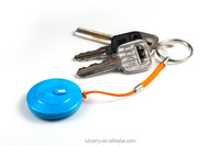 Hot sale anti lost alarm key finder bluetooth panic button key chain tracker