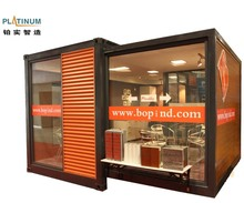 2017 portable mini office house container expandable modular home