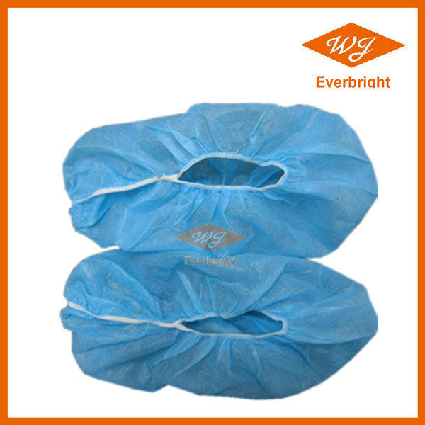 Protective non-skid shoe cover ankle high