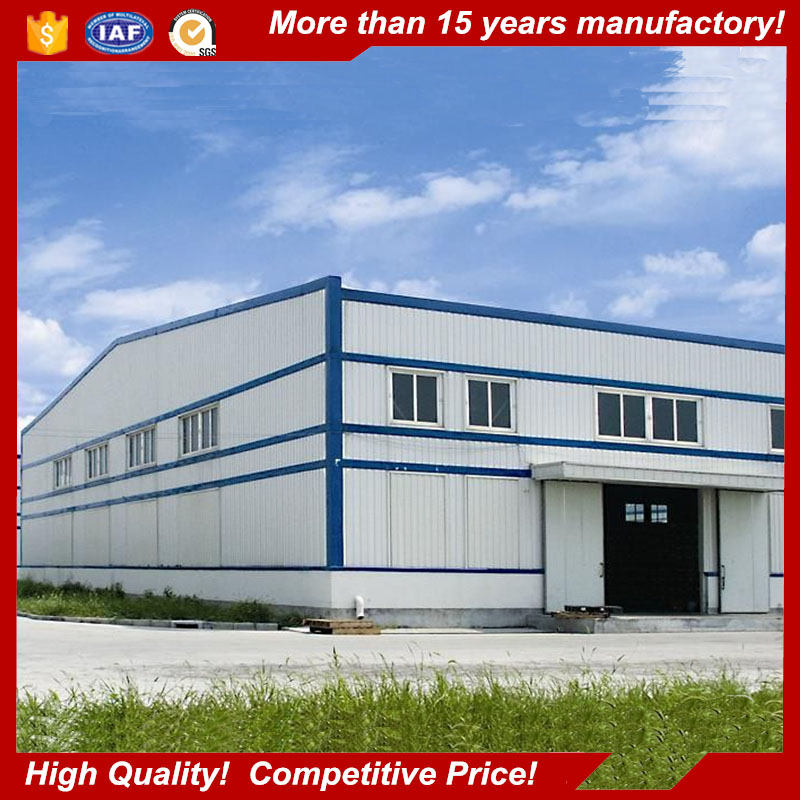 Galvanized Light Steel Structure Medical Prefabricated Warehouse