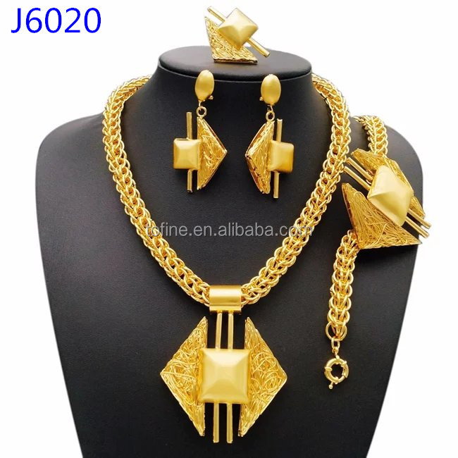 Beautifule rose gold plated jewelry african jewelry sets dubai for Gift