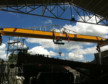 single girder type LD model traveling overhead crane and monorail crane