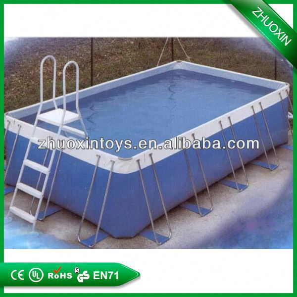 most popular inflatable lap pool,above ground frame swimming pool