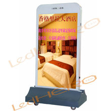 Cellphone type led panel/P3 led sign xxx moves / P3 advertising led billboard