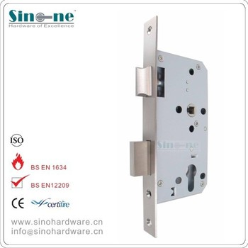 Germany quality euro mortise lock for fire door ce1121 for Door lock germany