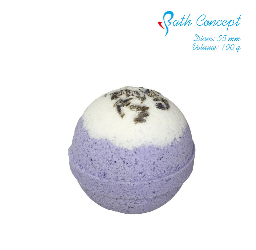 dry flower with bath salt aroma Bath Bomb