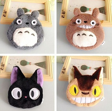 4Models - Kawaii NEW TOTORO 10CM Plush Coin Purse & Wallet Pouch Case BAG ; Pocket COIN Pouch Makeup Holder BAG Women Handbag