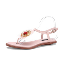 fashion fancy flat bohemian sandals shoes for ladies pictures