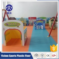Eco Friendly Children Playground Kindergarten Floor