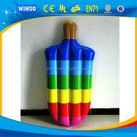 Summer Pool Float Inflatable Float Toy Cone/Blow Up Advertising Inflatable Popsicle