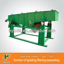 China linear vibrating grizzly screen for screening sand