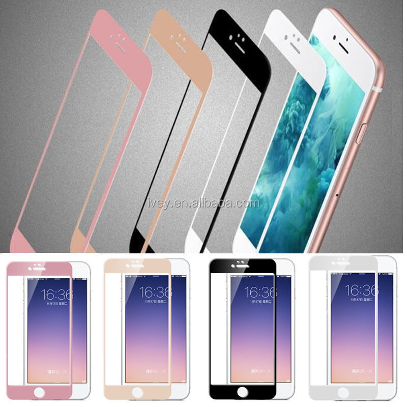 2.5D SMART TOU 9H 0.26MM Silk Printing Screen Protector Mobile Phone Accessiories 2.5D Tempered Glass for iPhone 6 iPhone 6 Plus