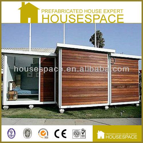 20ft wohncontainer haus mit holzverkleidung fertighaus. Black Bedroom Furniture Sets. Home Design Ideas