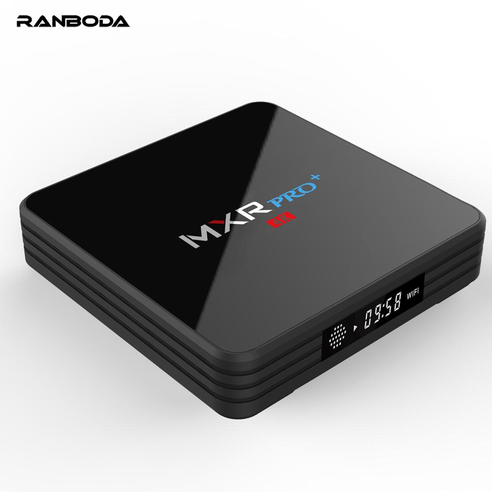 MXR Pro + RK3228 4GB 32GB ac <strong>WiFi</strong> 4K Android TV Box with LED Display