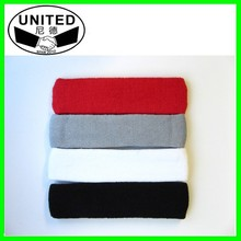 Cheap Embroidery Logo Cotton Kids Sweatbands/Head bands