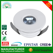 EUROPE STYLE led ceiling down light YF-T3024D RD Mini LED INdoor light/down light1w 3w 2 years warranty