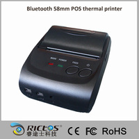 Portable 58mm POS thermal bluetooth printer for Android and IOS