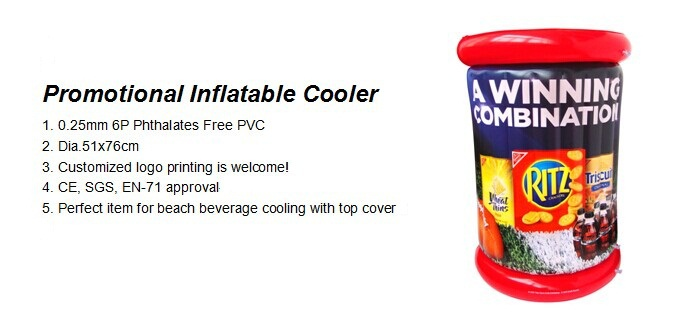 Dia.51cm Promotional Inflatable Cooler